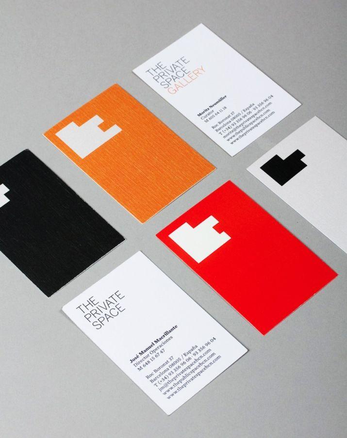 26 best business cards images on pinterest business cards brand the private space business card design inspiration card nerd colourmoves