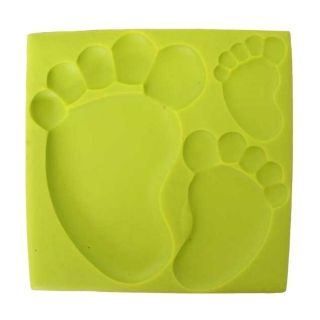 SILICONE MOULD - BABY FOOTPRINT