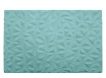 Keeping it warm and cosy with this aqua rug from Made.com