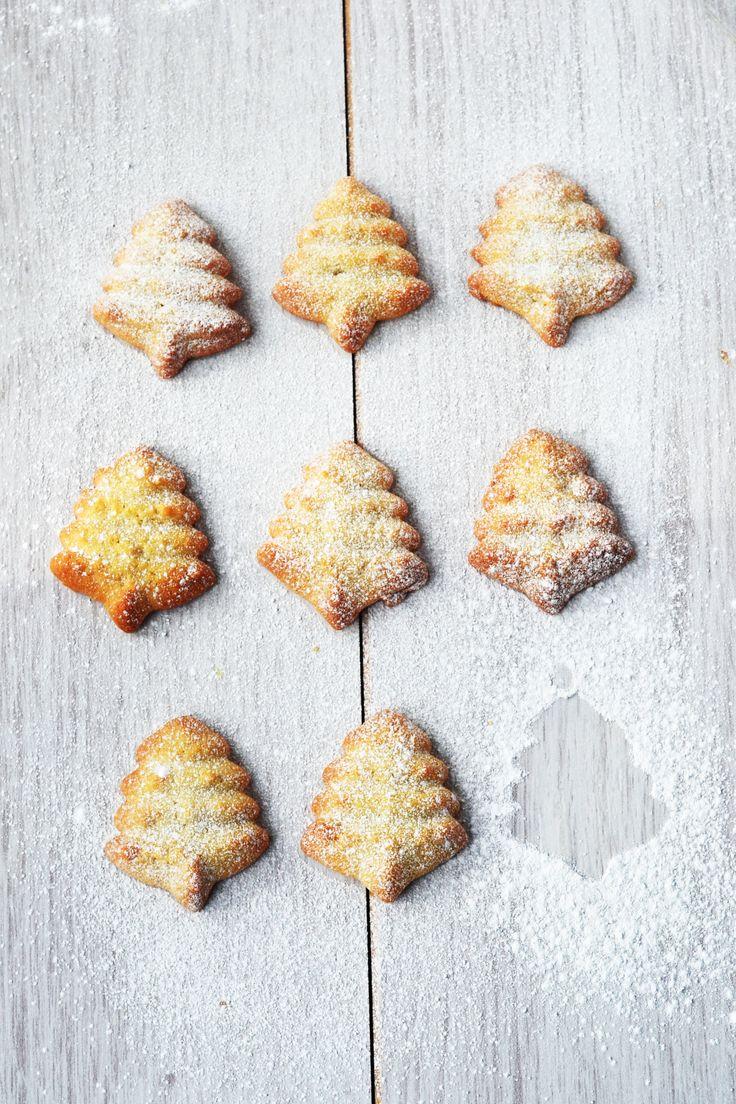 Butter cookies // Biscuits de Noël