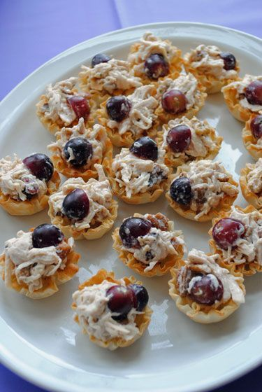 CONTESSA CHICKEN SALAD- A great appetizer for a shower, luncheon, party or the holidays!