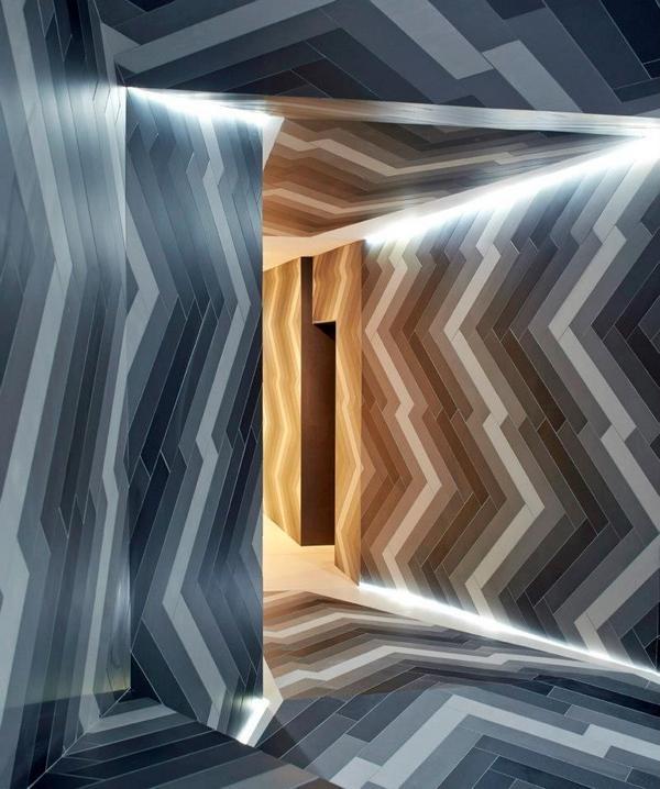 Le carrelage, cest fantastique - Capitol Studio Designer (CDS), Lily Jencks et Nathanaël Dorent, (architectes), créent un pop-up éphémère à Primrose Hill pour démontrer les innombrables possibilités qu'offre le carreau de porcelaine.  - DOC NEWS