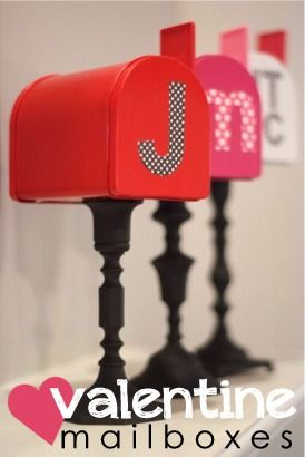 DIY Valentine's Mailboxes - going to do this!