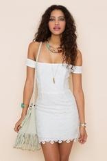 #nastygal and #minkpink: Kristine Crochet, Summer Dresses, Nasty Gal Minkpink Dresses, Hot Dresses, Summer Hot, Kristin Crochet, Style Ish, White Crochet Dresses, Summer Time