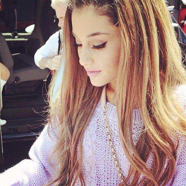Ariana Grande Ombre Hair Hair Pinterest Of Ariana Grande Hair Color
