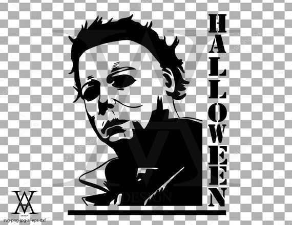 Michael Myers Halloween Vector Instant Download Etsy In 2021 Halloween Vector Michael Myers Drawing Michael Myers