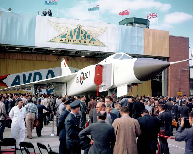 Avro Arrow (RL-201) (rollout October 4, 1957)