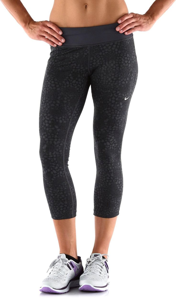 nike epic run printed crop tights women 39 s fitness. Black Bedroom Furniture Sets. Home Design Ideas