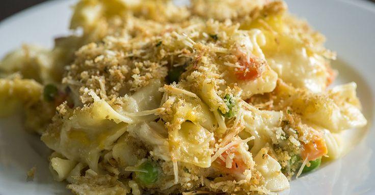 Hearty Chicken Noodle Soup Casserole