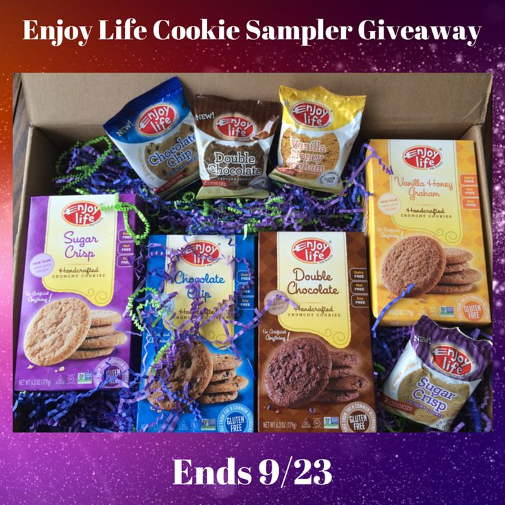 Enjoy Life Cookie Sampler Giveaway ends 09/23/14 #giveaway #food