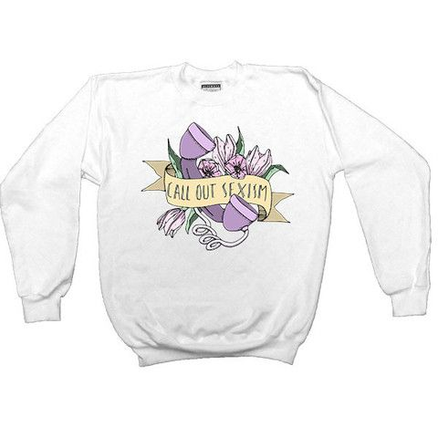 Call Out Sexism -- Women's Sweatshirt – Feminist Apparel