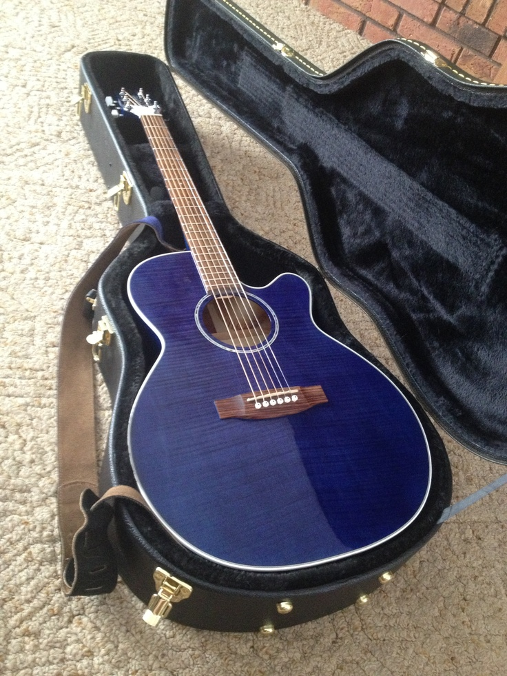 This is my beautiful guitar, Jane. Yes, I named my guitar. I can't go a day without playing.