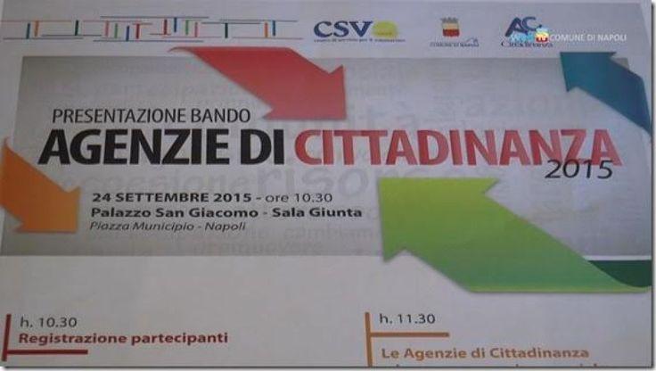[Video] NAPOLI, Agenzie di cittadinanza, via al nuovo bando - Web Tv Comune di Napoli