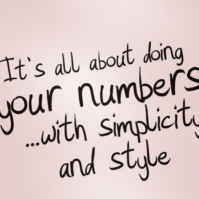 Yes it is. #numbersmadesimple