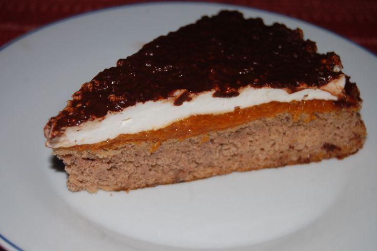 Gaštanová torta bez múky