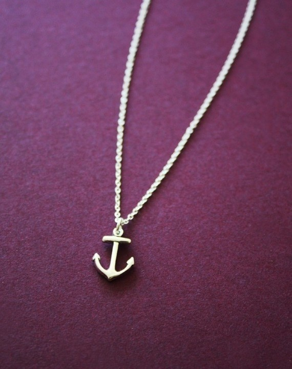 I love anchors because they represent hope. katdesmond: Anchors Necklaces, Anchors Bracelets, Cute Necklaces, Anchor Necklace, Cute Anchors, Nautical Theme, Anchors Jewelry, Delicate Anchors, Silver Charms