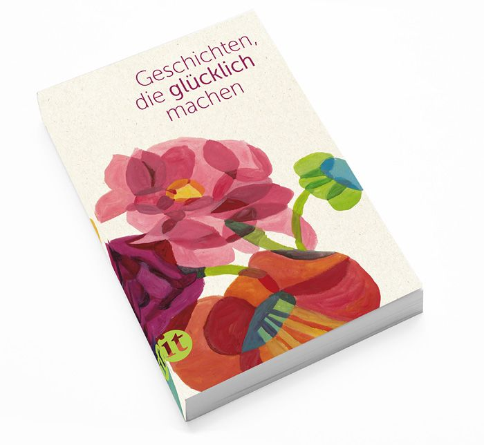 """I collaborated with a german graphic deisgner Franziska, whose design office is """"GOLD UNLIMITED"""", for a competition for an book cover for an big german publisher.She said """" My works make happy """"."""