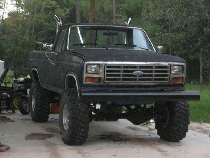 85 F350 with 6.9 IDI | f100 | Pinterest