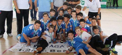 Las chicas del Córdoba B y los chicos del Maristas Málaga se proclamaron campeones de Andalucía alevín