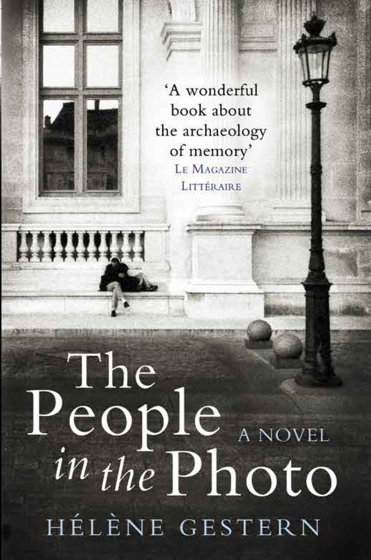 Cover design for People in the Photo. Designed by Emma Rogers