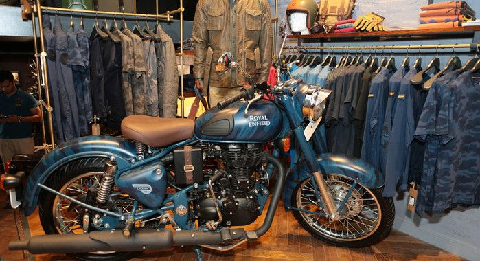 Royal Enfield has begun vending its new gear collection apparel and accessories online while its limited editions of Despatch motorcycles will go online from July...
