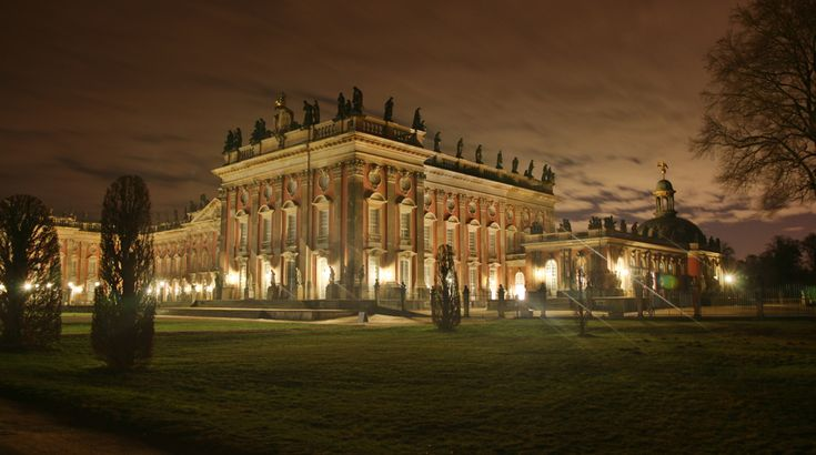 Neues Palais Potsdam - the house of this weird King