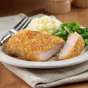 Mustard-Breaded Pork Chops - Recipes - ReadySetEat