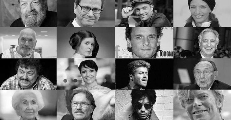 Ob George Michael, Guido Westerwelle, Fidel Castro oder Miriam Pielhau - die Zahl der prominenten Todesfälle scheint in 2016 besonders hoch. FOCUS Online erinnert noch einmal an die Stars, von denen wir uns verabschieden mussten.