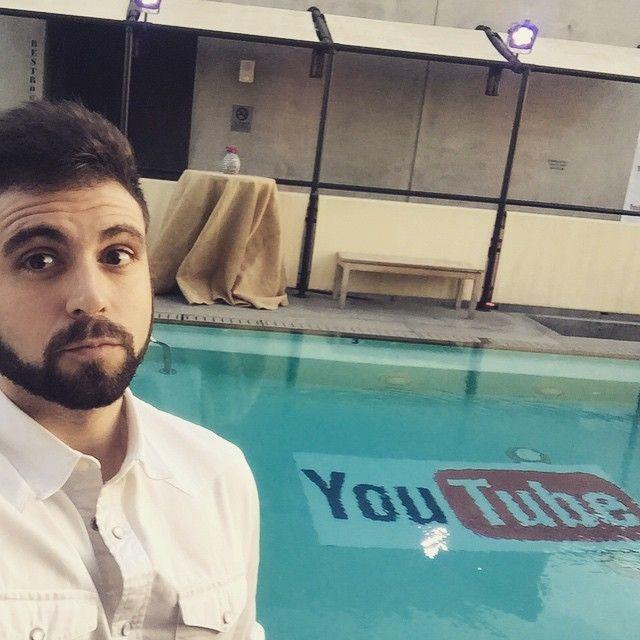 """Piscina youtuber ahora voy"". Vegetta vía Instagram."