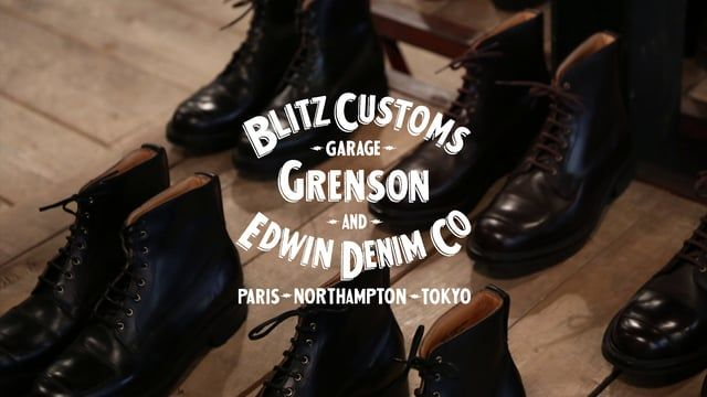 Thanks to Grenson, Royal Cheese, Fred, Hugo, and everyone who made it down to the 'Blitz Boot' Launch on in Paris on Friday night.  http://edwin-europe.com