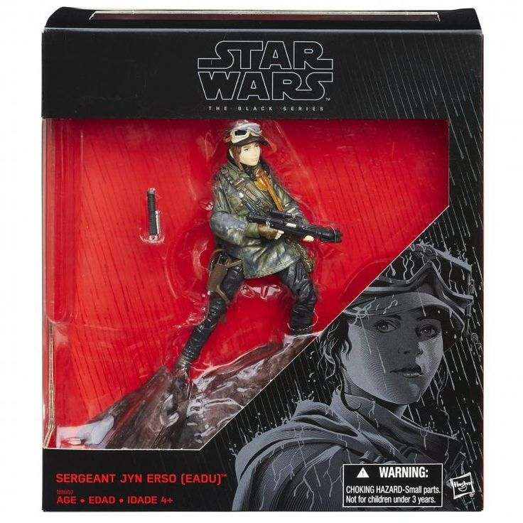 40 best figuras cmics images on pinterest 1 batman and comics rogue one jyn erso artwork latest rogue one toys include new look fandeluxe Gallery