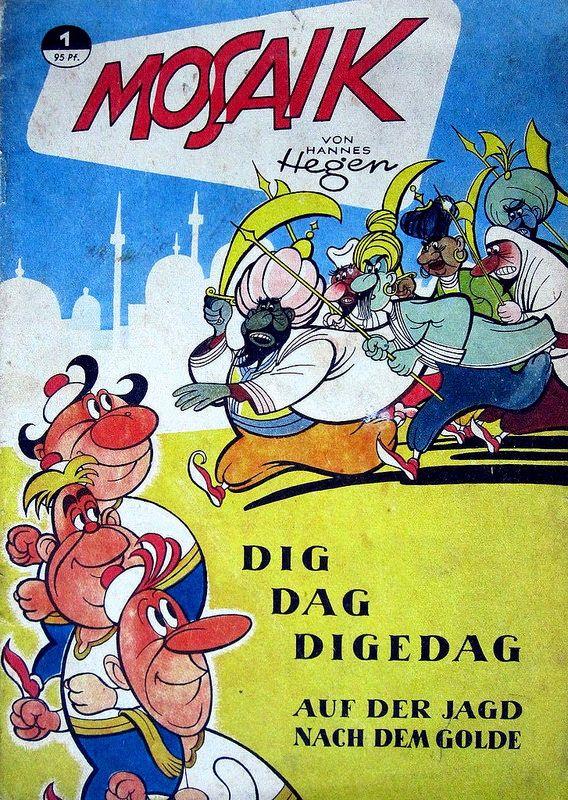 DDR Kinder Comics Mosaik