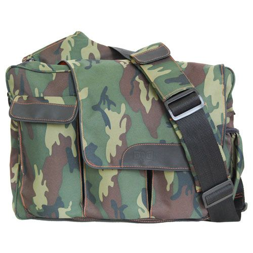 Diaper Dude Messenger II Camo Diaper Bag from PoshTots