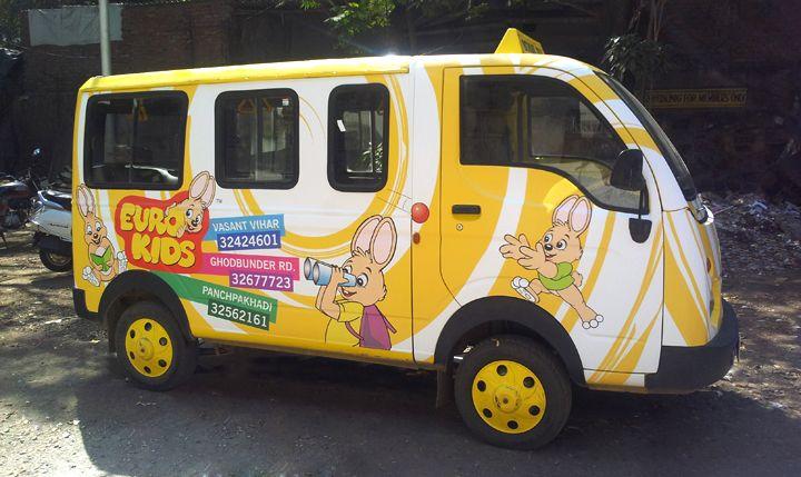 Euro Kids - Vehicle Branding
