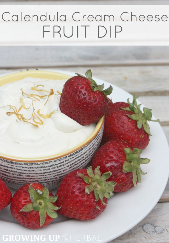 how to make cream cheese fruit dip