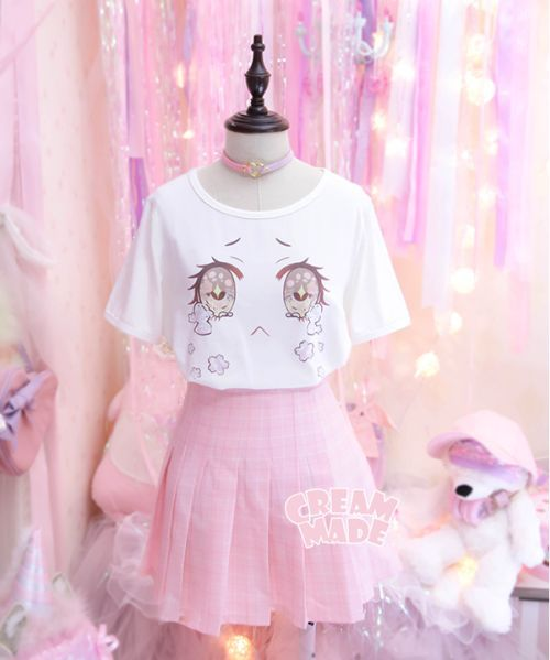 Pastel clothing store