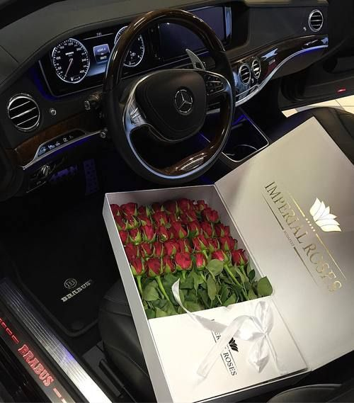 Best, car, and flowers image