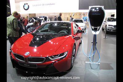 BMW E DRIVE i8