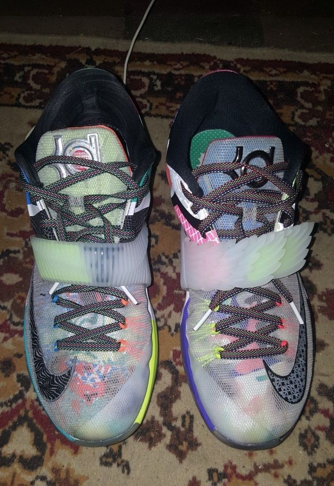 bec4c7573eca Nike KD 7 What The sz 11 EGGNOG great shapeAunt Pearl 5 Nerf  fashion   clothing  shoes  accessories  mensshoes  athleticshoes