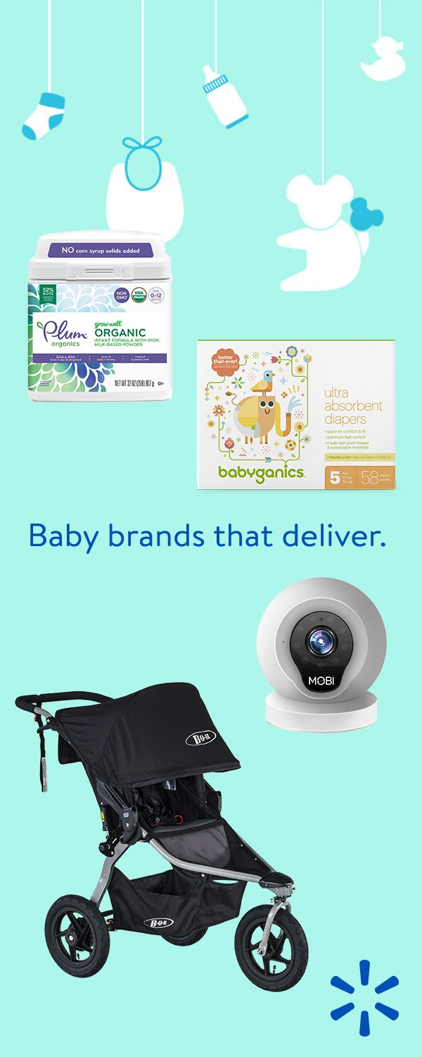 Shop Walmart.com for new baby products & brands that'll bring you bundles of joy!