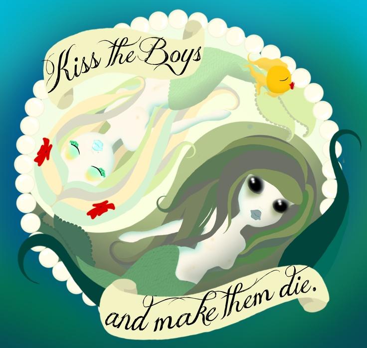 Kiss And Make: Yin-Yang Mermaids