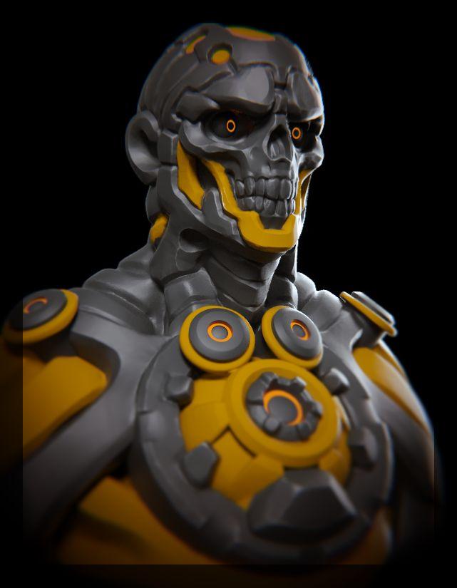 Robo tereminator inspired