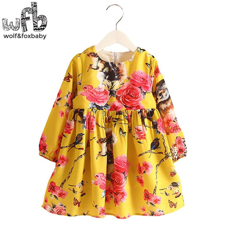 $22.52 (Buy here: https://alitems.com/g/1e8d114494ebda23ff8b16525dc3e8/?i=5&ulp=https%3A%2F%2Fwww.aliexpress.com%2Fitem%2FRetail-2-8-Milan-Princess-Dress-Flax-Long-Sleeve-Clothing-Baby-Girl-Cute-Korean-Squirrel-Birds%2F32655721100.html ) Retail 2-8 Milan Princess Dress Flax Long Sleeve Clothing Baby Girl Cute Korean Squirrel Birds Floral Print Spring fall 2016 New for just $22.52