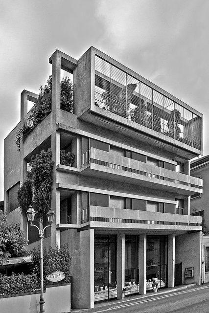 Cesare Cattaneo _ Casa d'Affitto a Cernobbio _ 1938-39