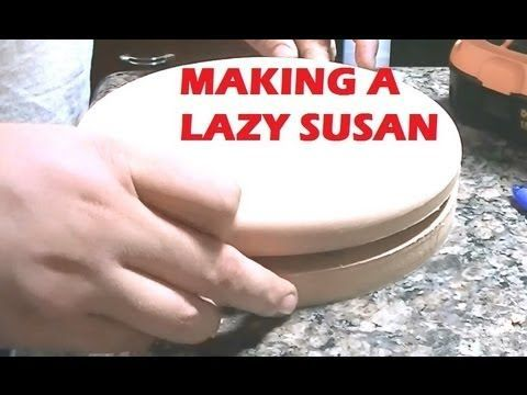 Build Lazy Susan Bearing Woodworking Projects Plans
