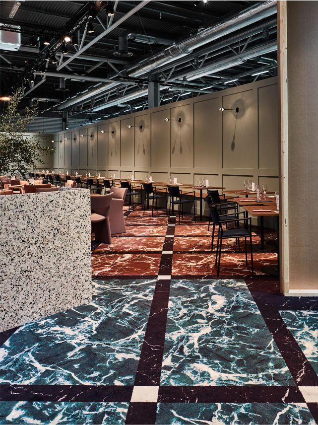 laostudio  Interior/ marble/ floor/ stone/ commercial/ restaurant