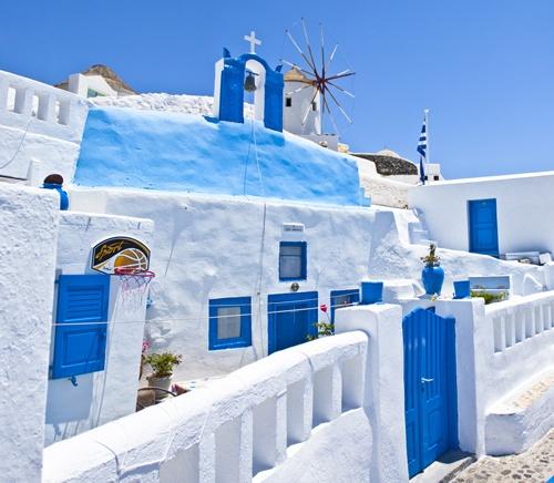Santorini Island, Cyclades,Greece, Oia, White on blue, Amazing Greece, Удивительная Греция