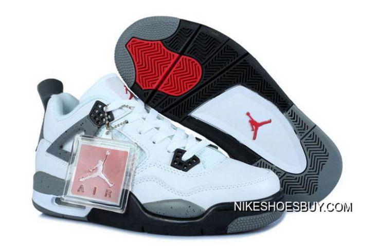 https://www.nikeshoesbuy.com/air-jordan-4-womens-shoes-white-gray-black-red-free-shipping.html AIR JORDAN 4 WOMENS SHOES WHITE/GRAY BLACK RED FREE SHIPPING : $73.06