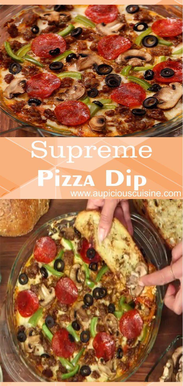 Pizza is pretty much a given, but it's better to be hands free for those touchdown dances, so why not take the savor of pizza and turn it into a warm, cheesy, yummy, dunk-worthy dip? After you try this, you may just speculate why you haven't been making it all alone.