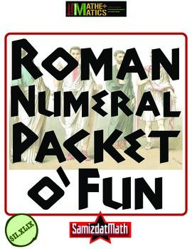 Teach Roman Numerals the Fun Way! V, count 'em, V fun and entertaining activities to practice Roman numerals, including matchstick puzzles, digital Roman numeral clocks and oder the Popes from I through XXIII!